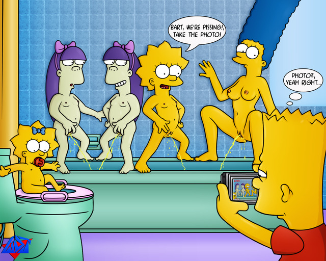 bart and lisa simpson porn simpsons marge simpson lisa bart wdj maggie dbf sherri terri