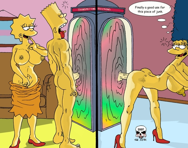 bart and lisa simpson porn simpsons marge simpson lisa bart fear bdbdbe
