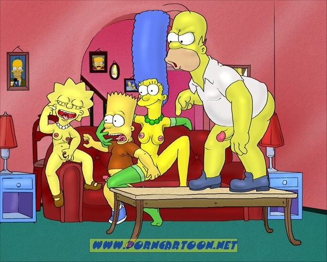 bart and marge fuck simpsons marge simpson homer lisa bart porncartoon