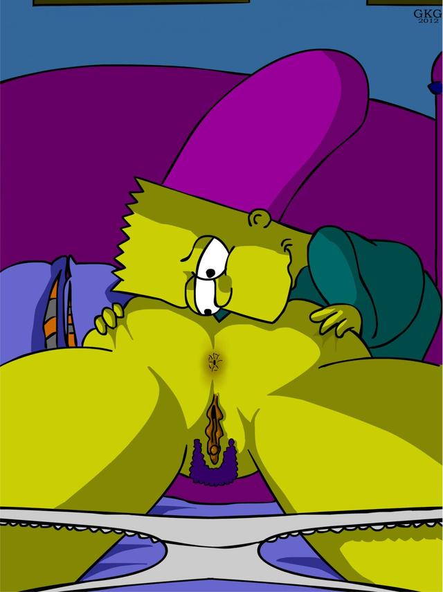 Speaking, Marge simpson anal question