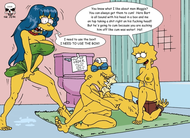 Bart And Marge Fuck Simpsons Simpson Lisa Fear Maggie Acee