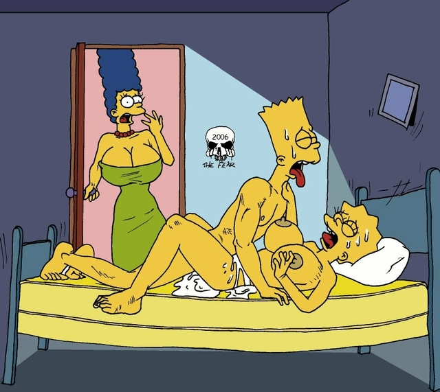 bart porn simpsons marge simpson lisa bart fear incest