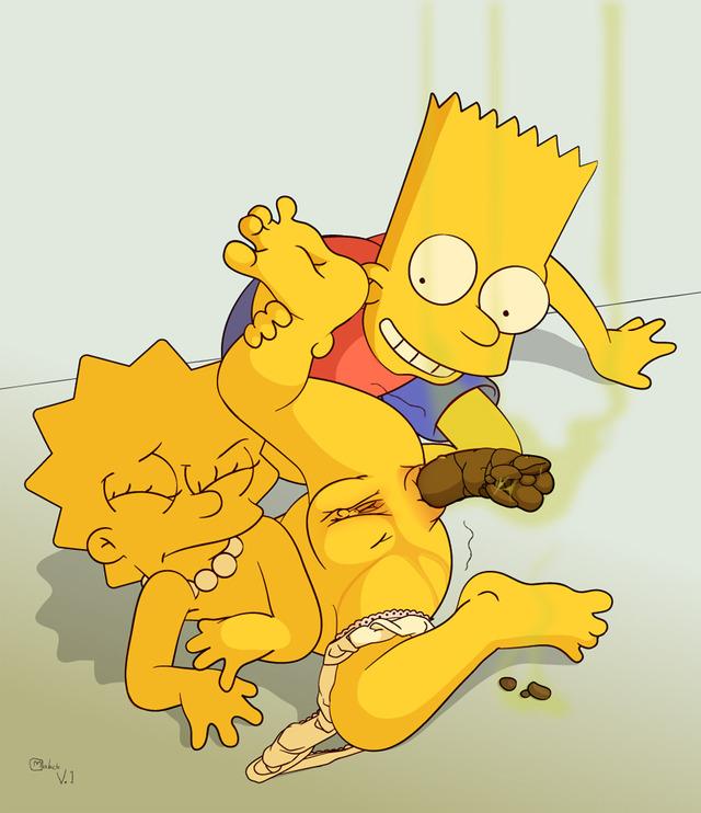 Bart and lisa fuck grown up