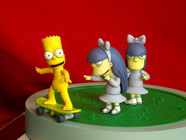 bart simpson porn art pre simpson bart naked toy skater dtwx