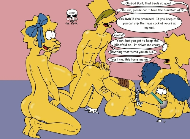 Bart Simpson Porn Simpsons Marge Lisa Dce Cfa Fear Maggie