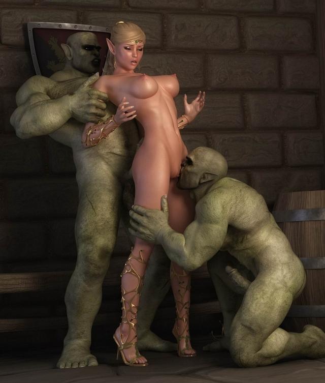 секс эльф 3d