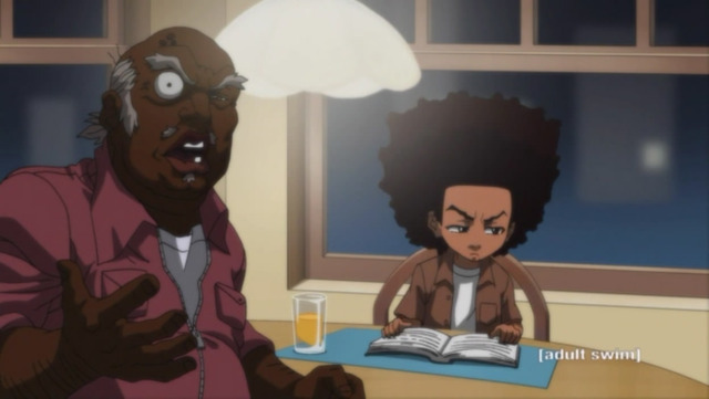 boondocks cartoon porn pics anime everything about know boondocks