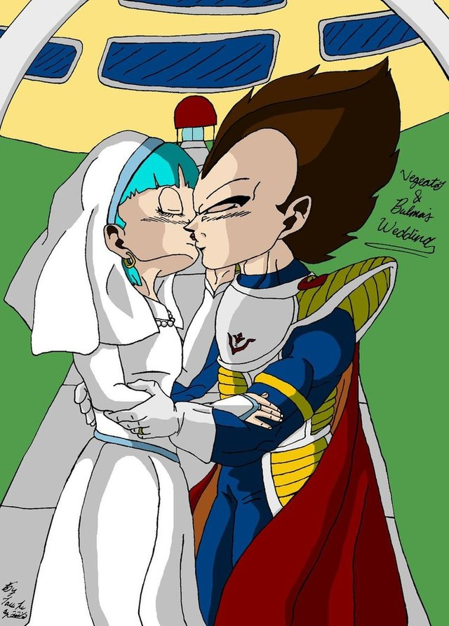 bulma naked art pre bulma vegeta revised wedding iziume dscmd