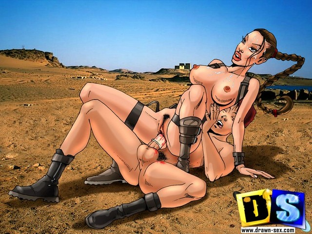busty toons beauty lara croft porn date