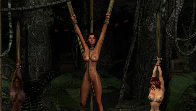 busty toons beauty lara croft porn porn pictures galleries toons fucked monsters busty scj cruel slaves
