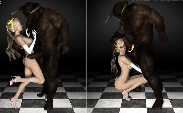 cartoon 3d porn pic porn monster rape