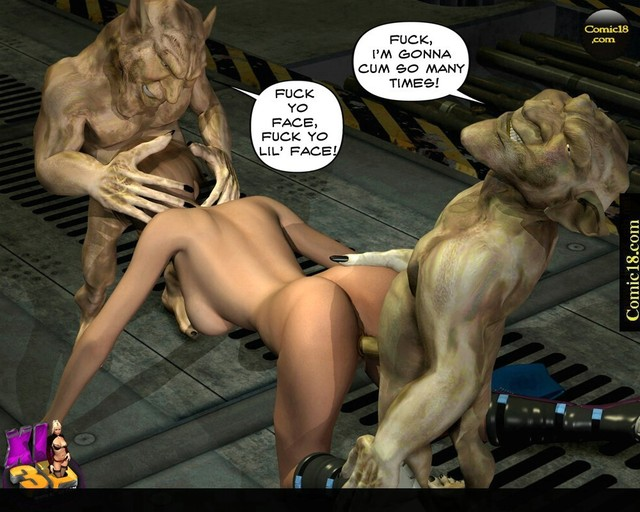 cartoon alien fucks a girl porn cartoon anime photo fuck girl alien goblins