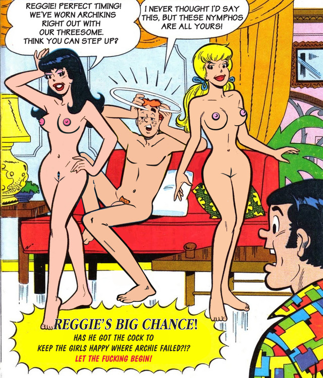 archie comics betty and veronica nude № 53322