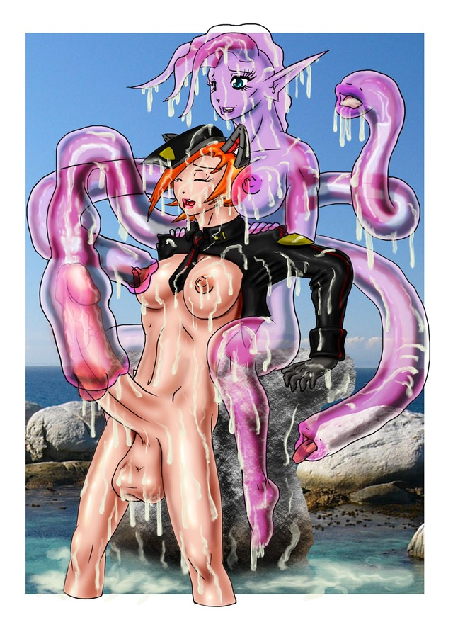 cartoon monster porn pictures porn page category cartoon monster futanari helltastic