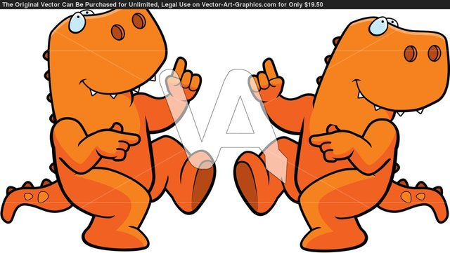 cartoon nude pic cartoon cartoons happy rex dancing dinosaur smiling eacfe tyrannosaurus