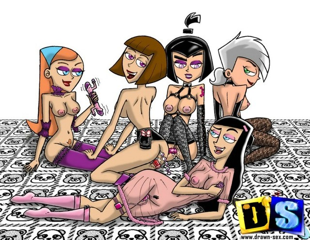 cartoon porn crazy toons danny phantom gallery galleries cartoons party group friend scj horny throw fbbcb