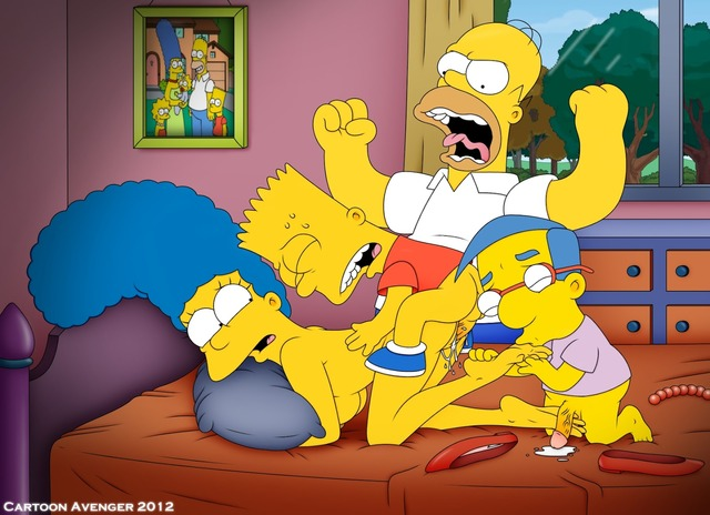 cartoon porn pics the simpsons porn media marge