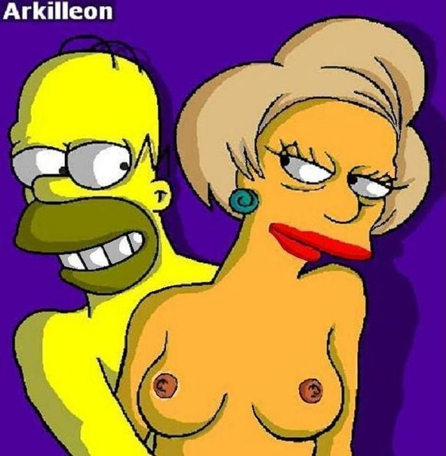 cartoon porn pictures simpsons simpsons cartoon galleries