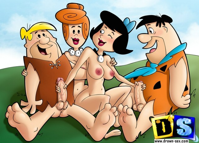 Porn Pictures Porno Cartoon Gallery Group Flintstones Dsflintstones
