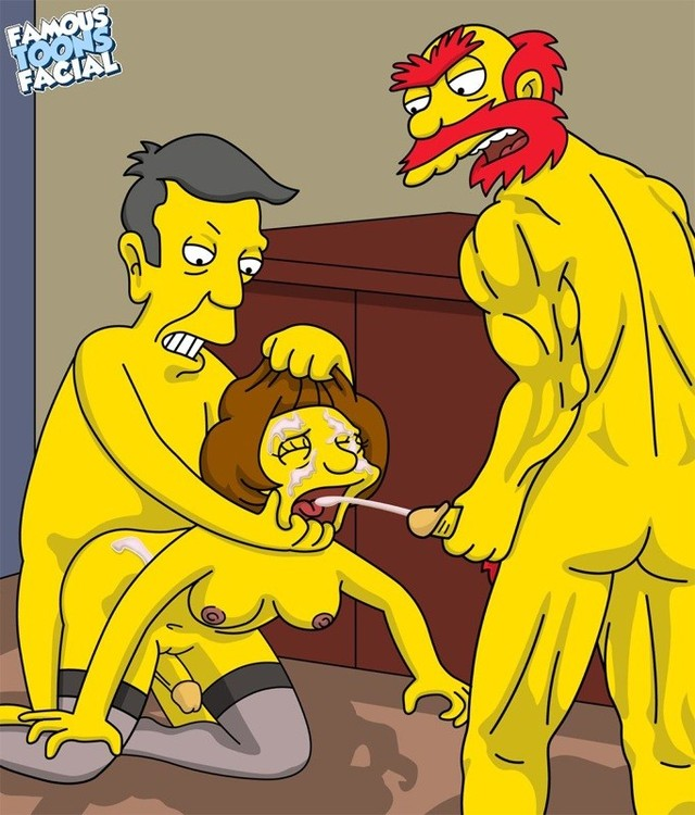 cartoon pron new simpsons xxx pics facial