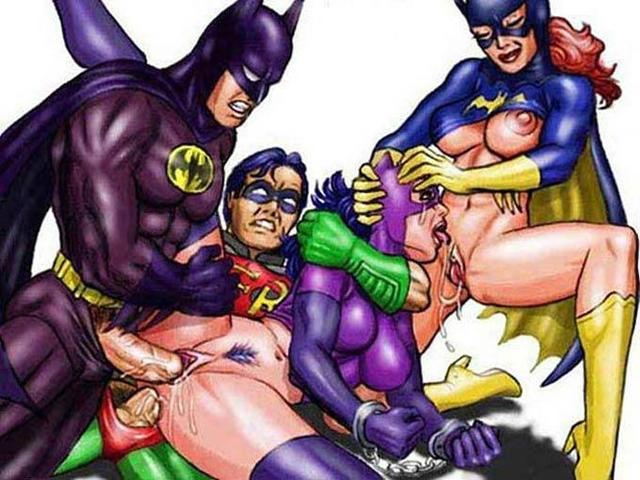 фото секса супергероев