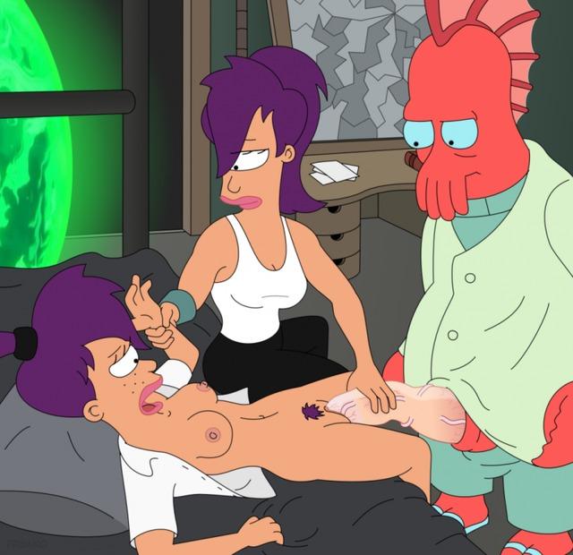 Порно футурама фото