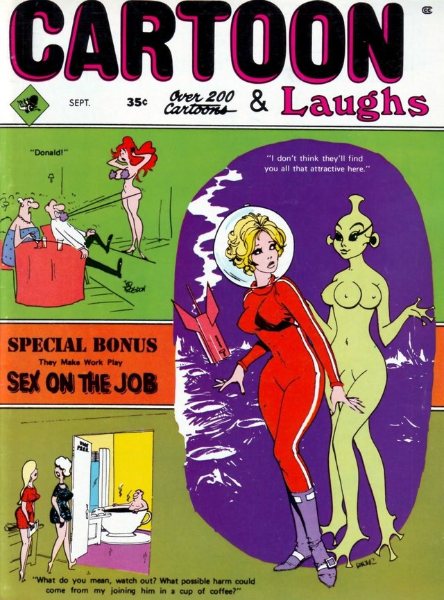 cartoon sex pics cartoon part one cover laughs