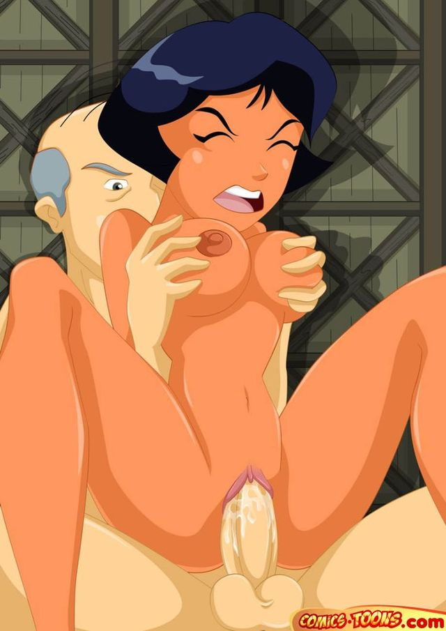 cartoon sex porn gallery cartoon galleries totally spies piture