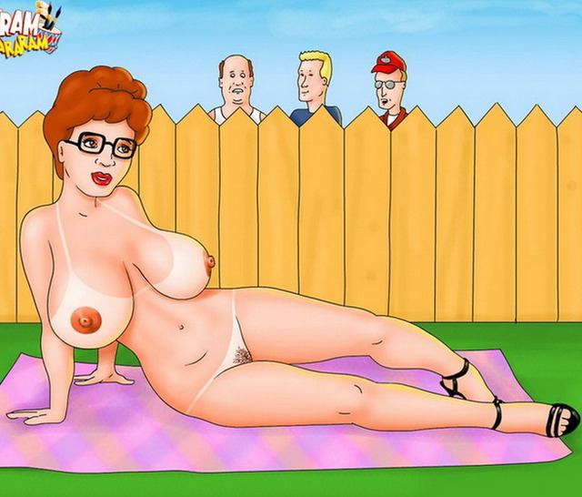 milf cartoons