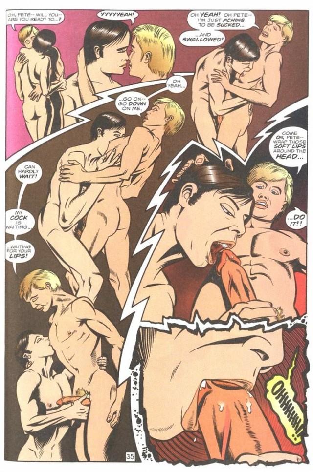 Винтаж порно комиксы