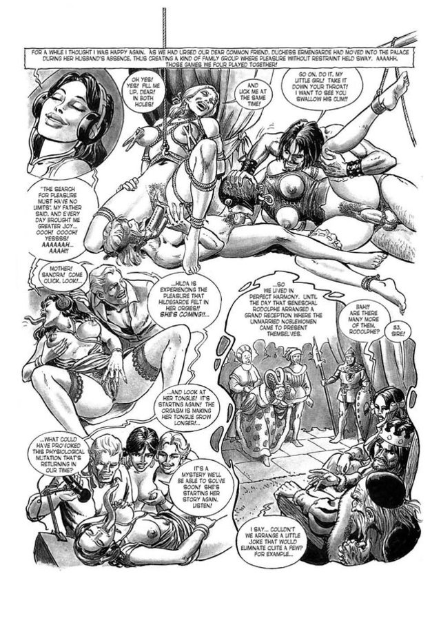 comic porn drawings porn comics part chapter bdsm hanz kovacq hilda