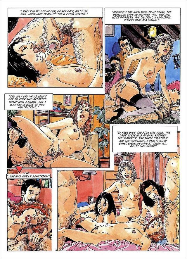 комиксы про зомби порно