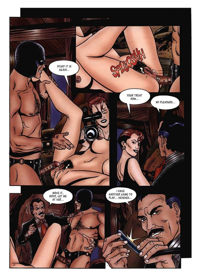 comics porn full porn comics adult attachment part cafe bondage tulli morucci