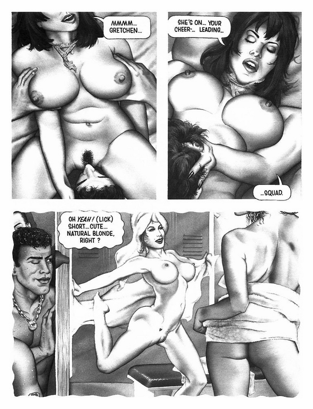 comics porn full gets pussy babe wet fresh clean polished