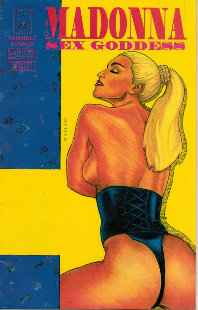 comix cartoon sex comic goddess madonna
