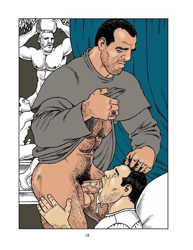 Комиксы секс геи