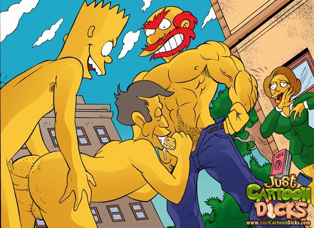 crazy porn from simpsons simpsons dicks