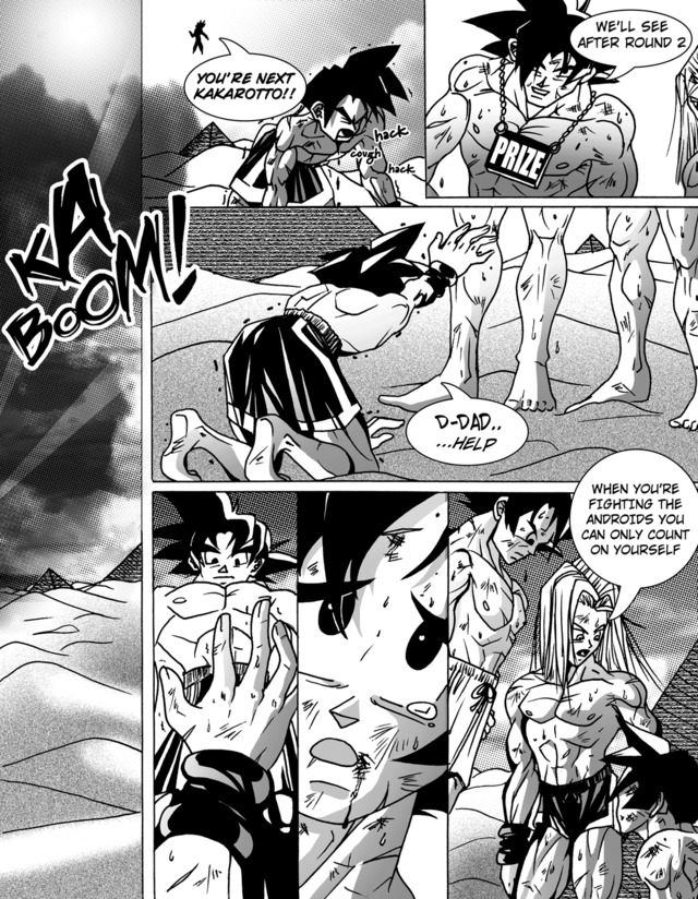 dbz porn porn media comic dragon ball