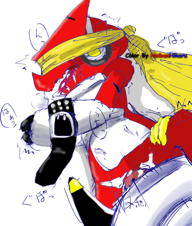 digimon porn digimon bcfeaaff damemon shoutmon tako