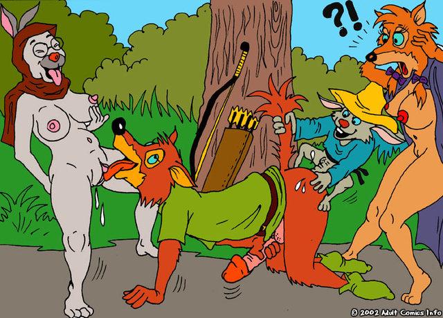 Комиксы робин гуд порно 23633 фотография