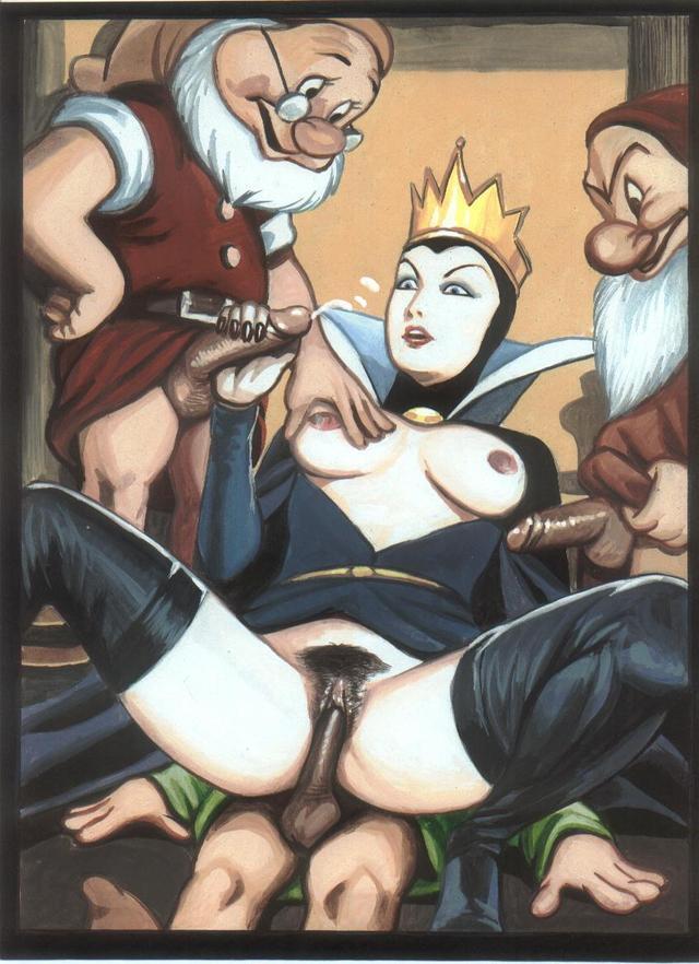 Порно картинки гном и белоснежка 44950 фотография