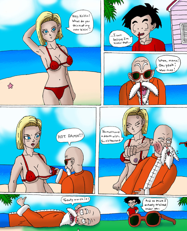 dragon ball z porn porn media comic original dbz