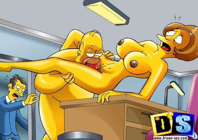 draw toons porn simpsons drawn exclusive