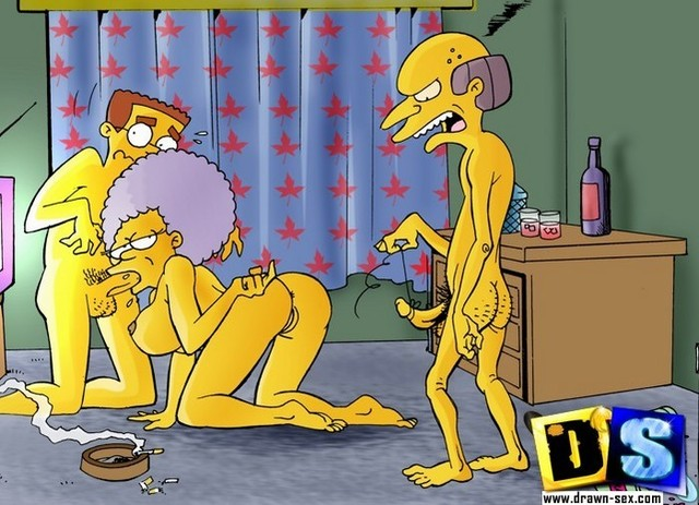 drawn busties porn porn simpsons drawn from simp busty beauty