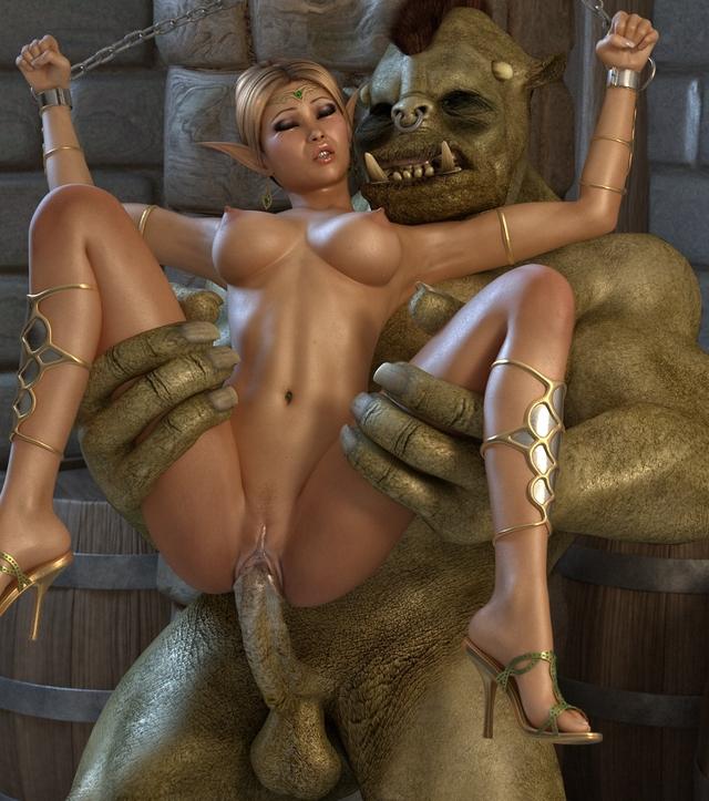 Секс эльфов 3d