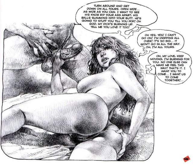 Asses erotic drawings in fat