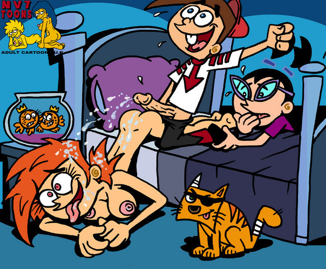 fairly odd parents porn fairly oddparents timmy vicky turner wanda cosmo dec tootie nev dcf