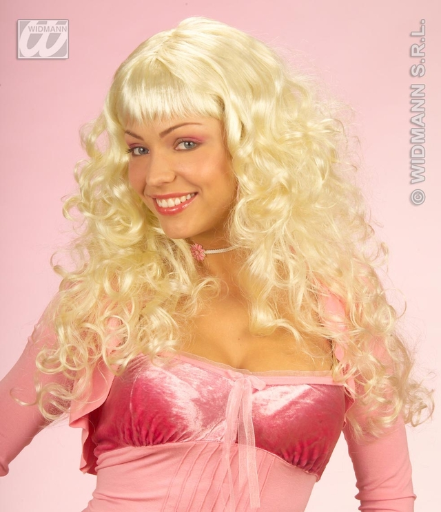 fairy porn porn princess star blonde long dress fairy angel ladies itm curly wig fancy