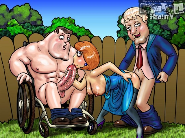 family guy's nymphos porn sexy family pic cartoonreality nymphos guys