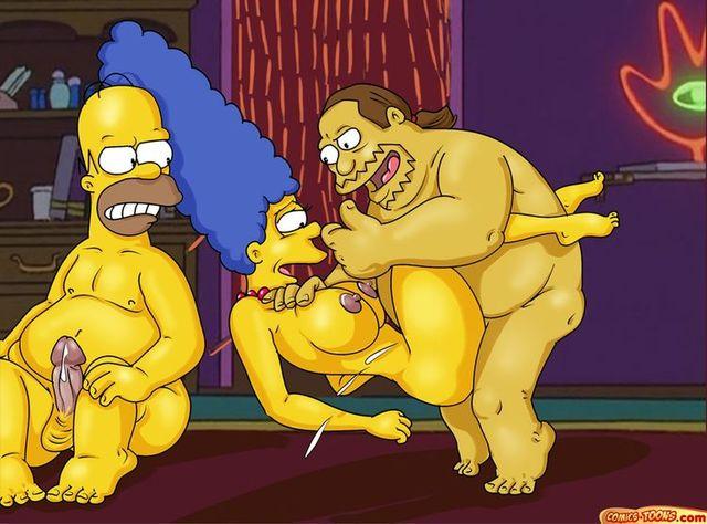 Порно фото симпсони вк 74786 фотография